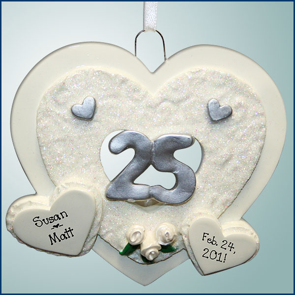 Cute Christmas Ornaments Wedding Engagement and Anniversary