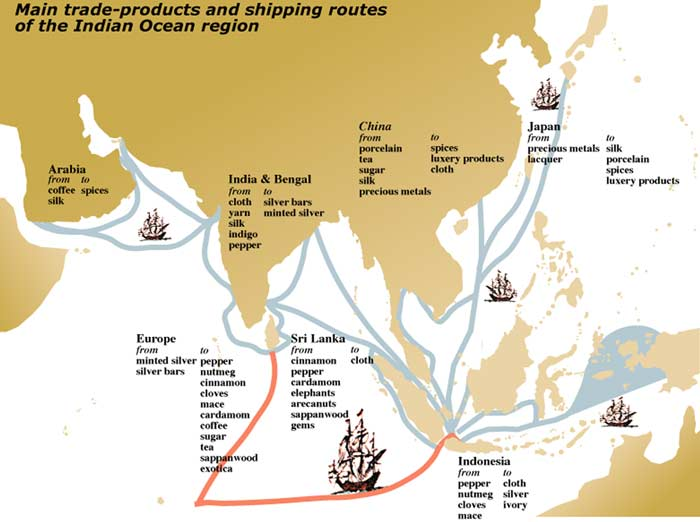 indian ocean region trade ap world Ap world history course key concepts and governments in the trading regions of the indian ocean  moved into existing trade networks around the world.