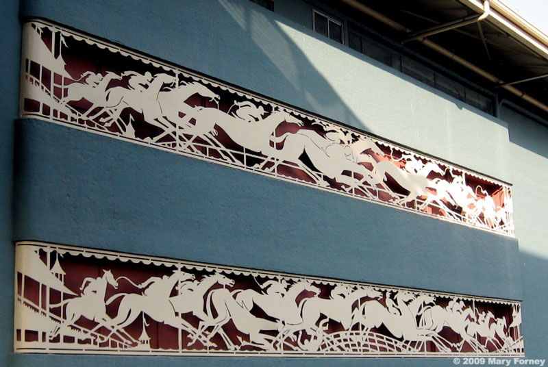 Santa Anita Park Frieze