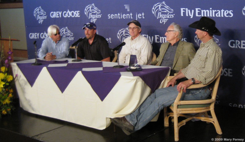 baffert, sherriffs, jerry moss, chip woolley
