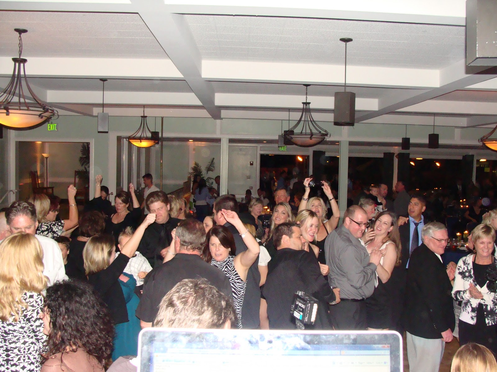 Miramar O Club Wedding Reception San Diego DJ Prices MY DJs Best Party Fun