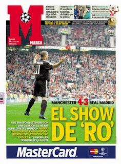 Partidos enteros historicos de selecciones o equipos Manchester+4-3+Real+madrid