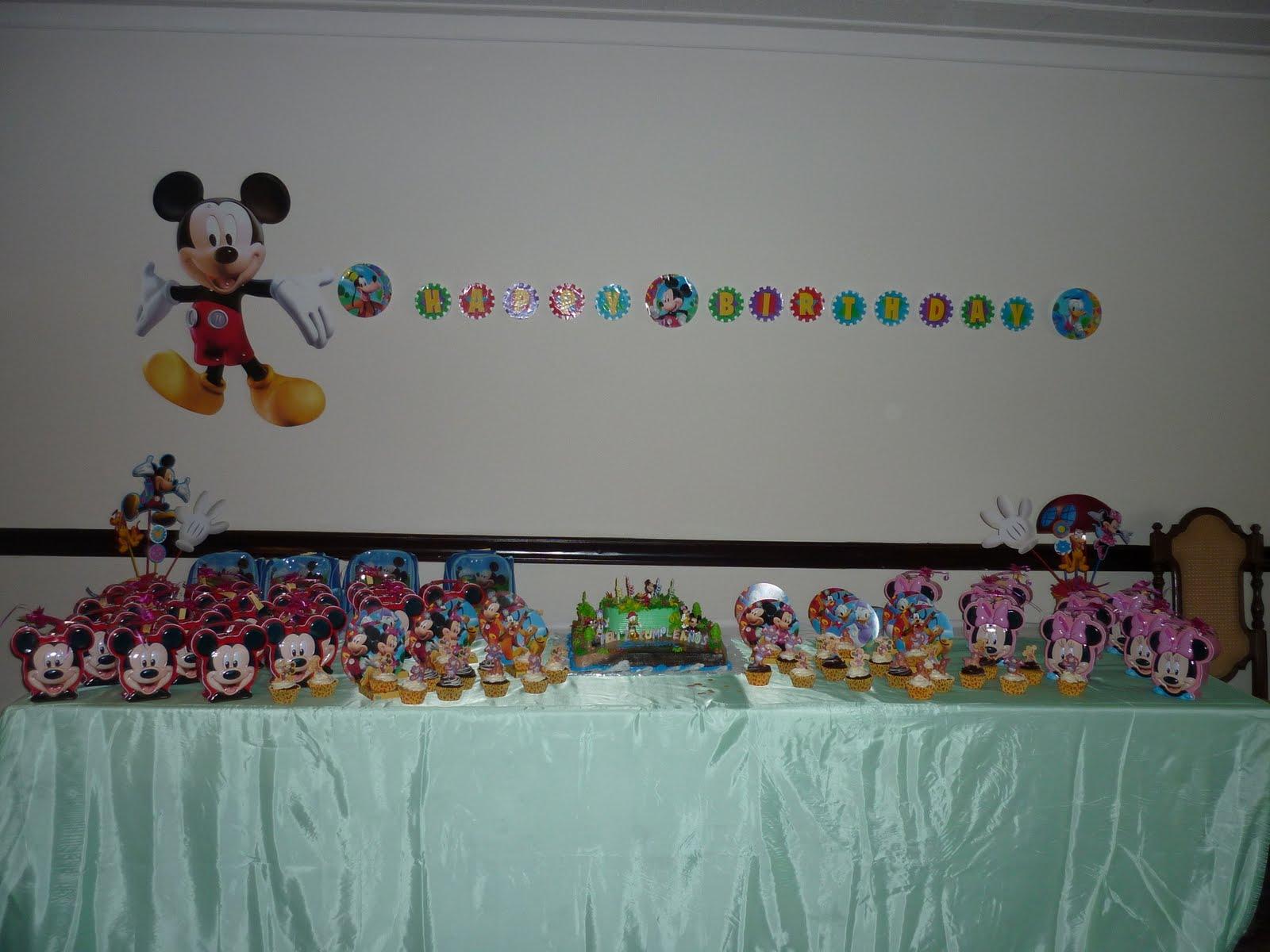 Decoracion Cumplea?os Mickey ~ MEMORIAS EN PAPEL Decoraci?n de cumplea?os de Mickey Mouse
