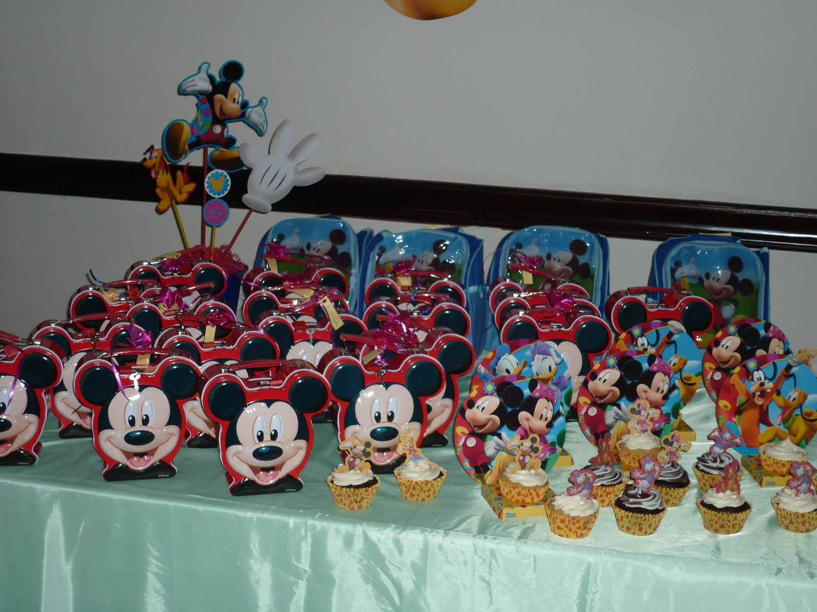 Decoraci  N De Plea  Os De Mickey Mouse