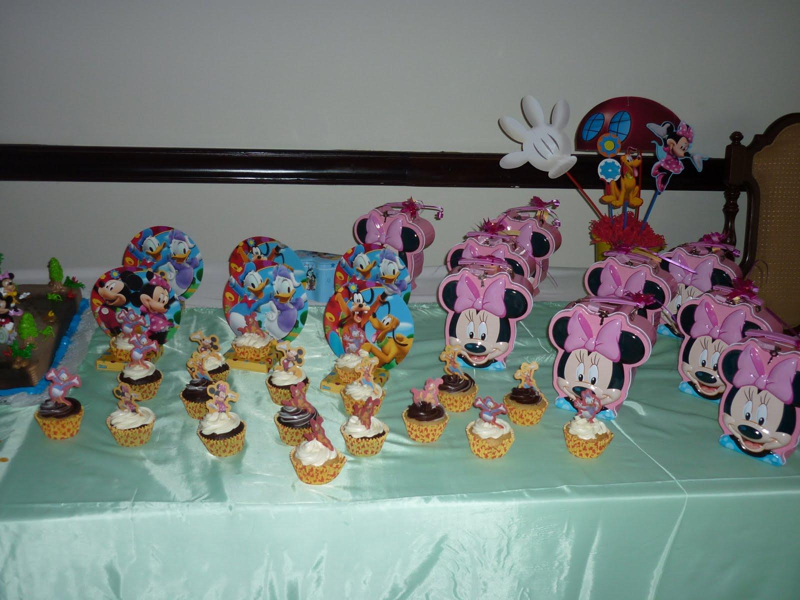 Memorias en papel decoraci n de cumplea os de mickey mouse for Decoracion de cumpleanos