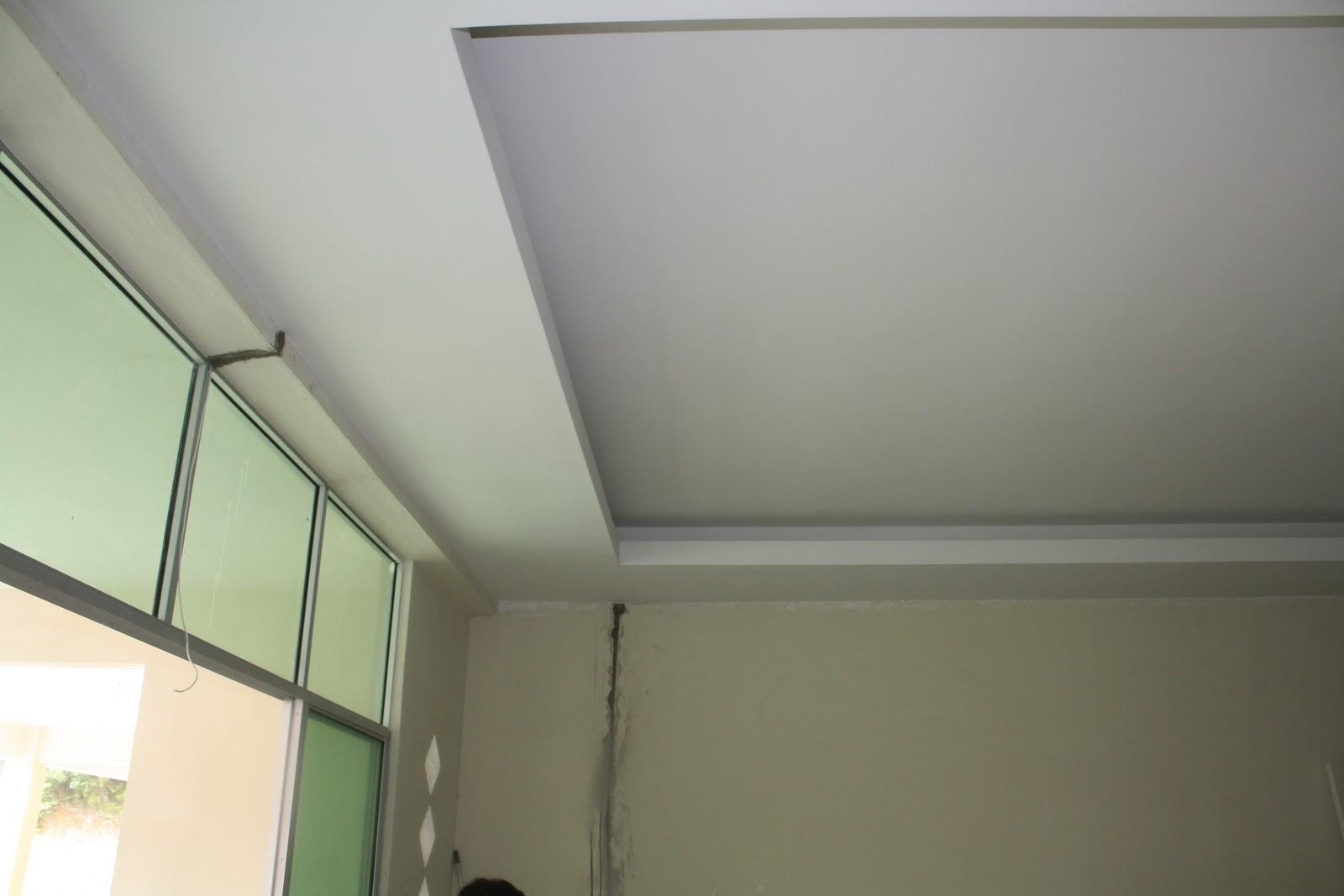 kontraktor pemasangan plaster siling di taman nelly 8 inanam sabah