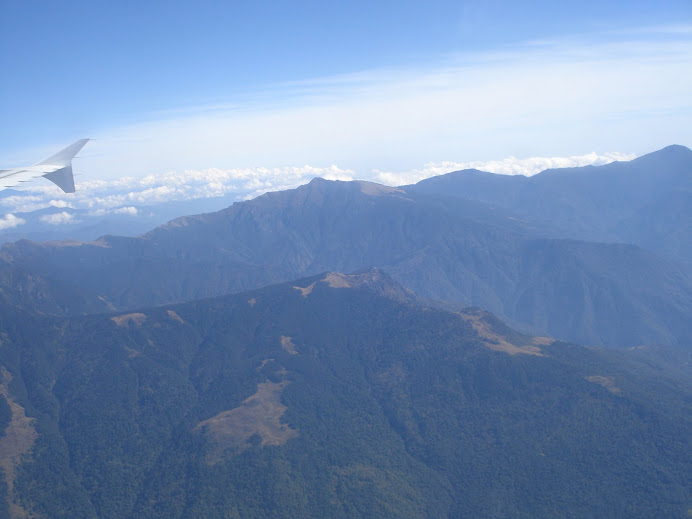 View of Bhutanese mountains