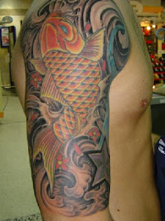 Picture of Japanese Forearm Tattoo