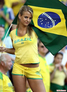 Brazilian Soccer Body Painting