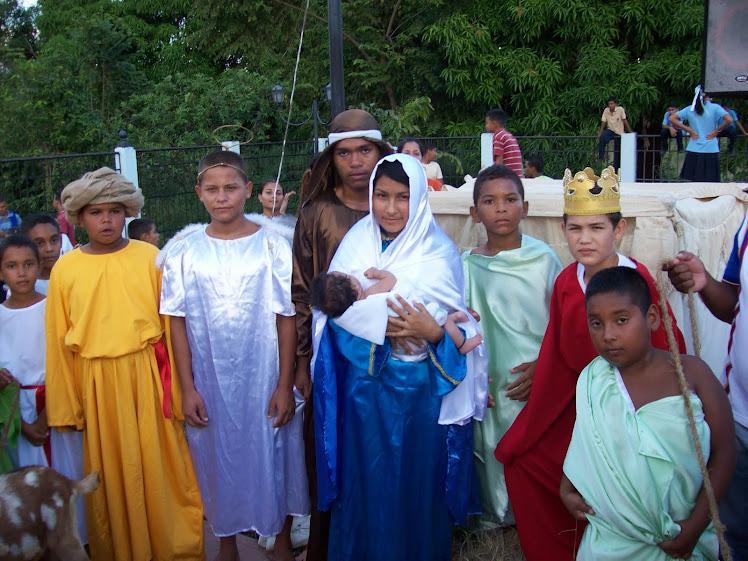 Nacimiento de Jesús (Viviente)