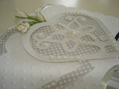 message board we have a UK crafters chatty thread and this wedding card