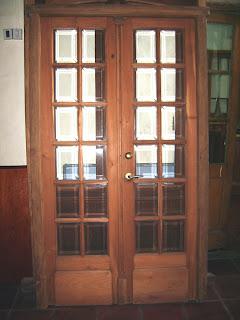 Corralon del tiempo puerta doble cod012 for Puerta doble madera