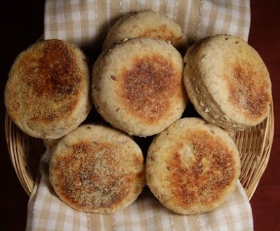 Living in the Kitchen with Puppies: Multigrain English Muffins