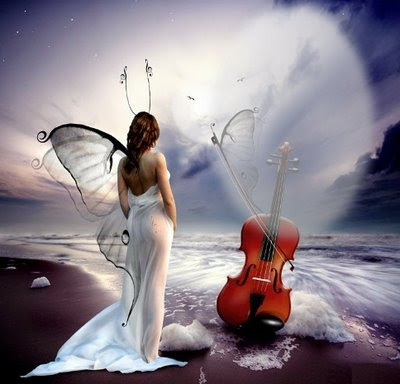 sonhos,mulher na praia,mar,borboletas,fada