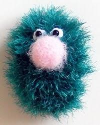 Amigurumi Eyelashes : 2000 Free Amigurumi Patterns: Fun Fur Monster