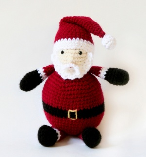 Amigurumi Santa Patterns : 2000 Free Amigurumi Patterns: Santa Claus