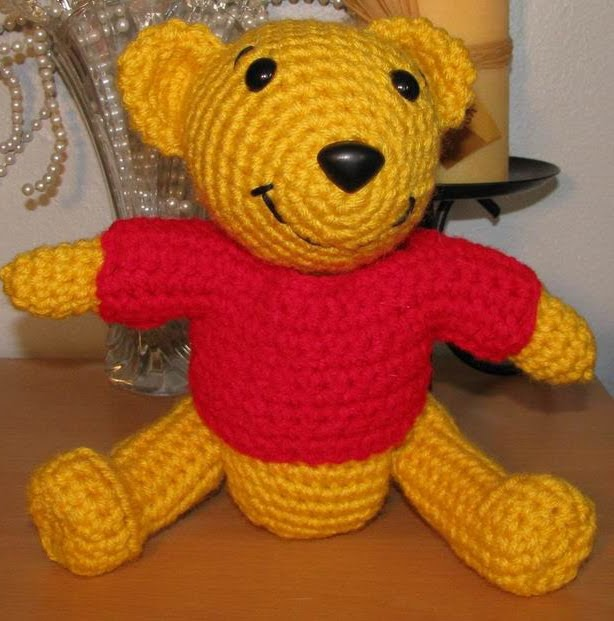 Free Amigurumi Patterns Horse : 2000 Free Amigurumi Patterns: Pooh Bear