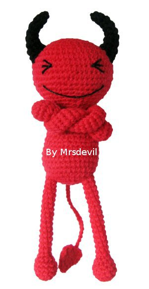 Free Amigurumi Patterns Halloween : 2000 Free Amigurumi Patterns: Red Devil