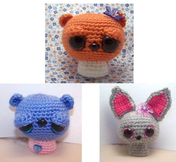 All Free Amigurumi Patterns : 2000 Free Amigurumi Patterns: Noggins