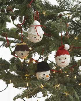 Crochet Ornaments patterns -- Free for Everyone!