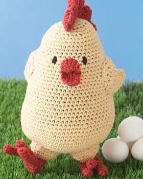2000 Free Amigurumi Patterns: Free range chicken