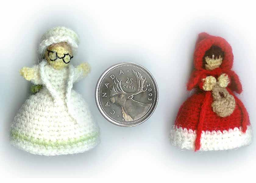 2000 Free Amigurumi Patterns: Red Riding Hood and Granny ...