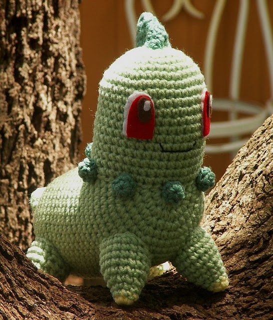 Crochet Patterns Pokemon : Click here for the free Pokemon Amigurumi pattern