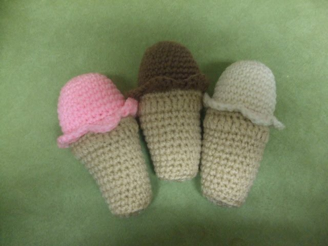 Amigurumi Ice Cream Pattern : 2000 Free Amigurumi Patterns: Ice cream cones