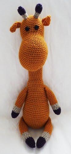 Amigurumi Giraffe Free : GIRAFFE CROCHET PATTERN Easy Crochet Patterns