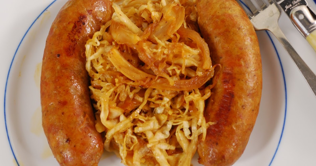 Know Whey: Chicken Sausages with Apple and Calvados