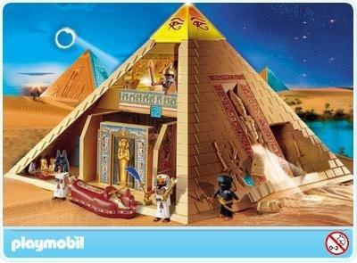 """Игровой набор """"Пирамида playmobil PM4240П"""""""