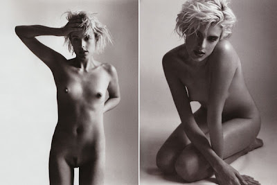 Agyness Deyn Butt-Naked and