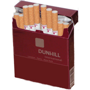 Chicago classic cigarettes Dunhill light