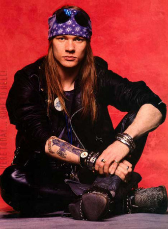 HEAVY PARADISE, THE PARADISE OF MELODIC ROCK!: Axl Rose's Hatred of