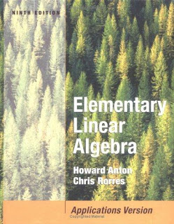 ... Textbooks PDF: Elementary Linear Algebra 9th edition by Howard Anton