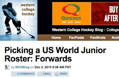 Western College Hockey 70