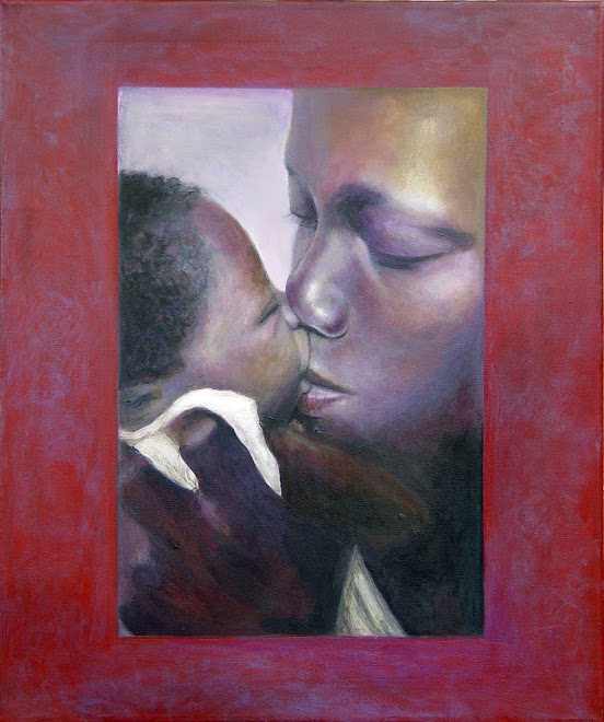 El beso maternal