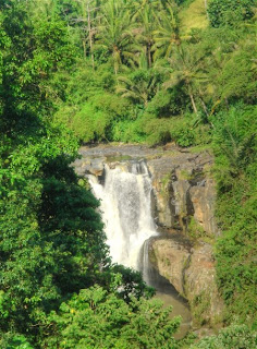 waterval van Tegenungan bij Ubud, Bali