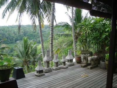 Valley view in Ubud Bali, near Four Seasons Hotel, Sayan
