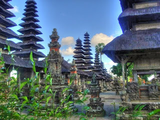 Tempel in Mengwi, goed te bezoeken vanuit Villa Sabandari in Ubud.
