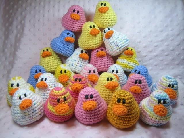 Crochet Amigurumi Duck Patterns : Susie Farmgirl: Amigurumi Ducks - Free crochet pattern