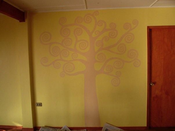 Mural arbol de la vida