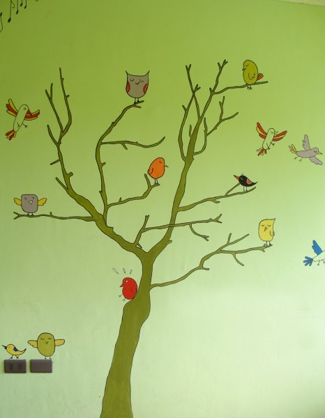 Árbol de pájaros