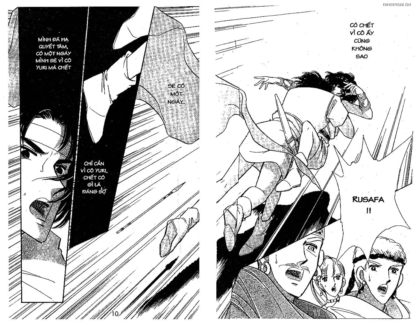Sora wa Akai Kawa no Hotori - Dòng sông huyền bí Chapter 74 - Trang 10