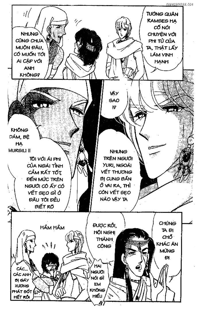 Sora wa Akai Kawa no Hotori - Dòng sông huyền bí Chapter 74 - Trang 42