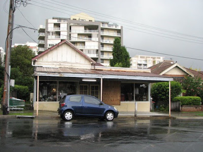 The shop in Waitara Avenue which was the first house I ever lived in (2008)