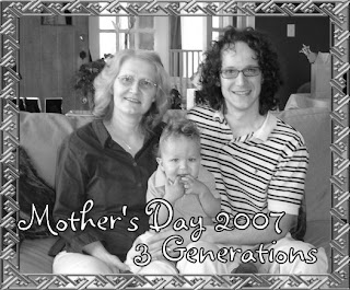 son-grandson-grandma-3-generations photo image