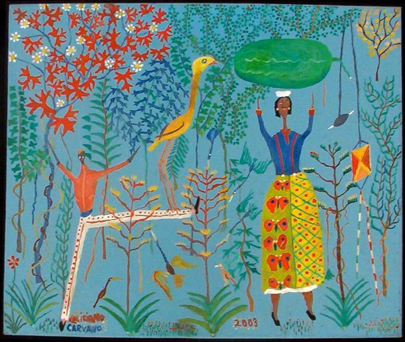 arte popular y artesanía de Venezuela: FELICIANO CARVALLO - artista ...