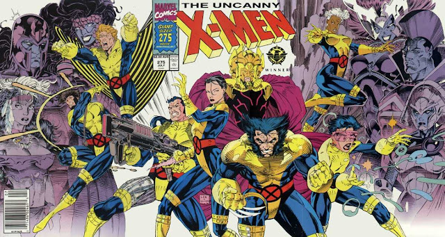 This Avengers magazine cover is a beautiful homage to &#39-90s X-Men ...