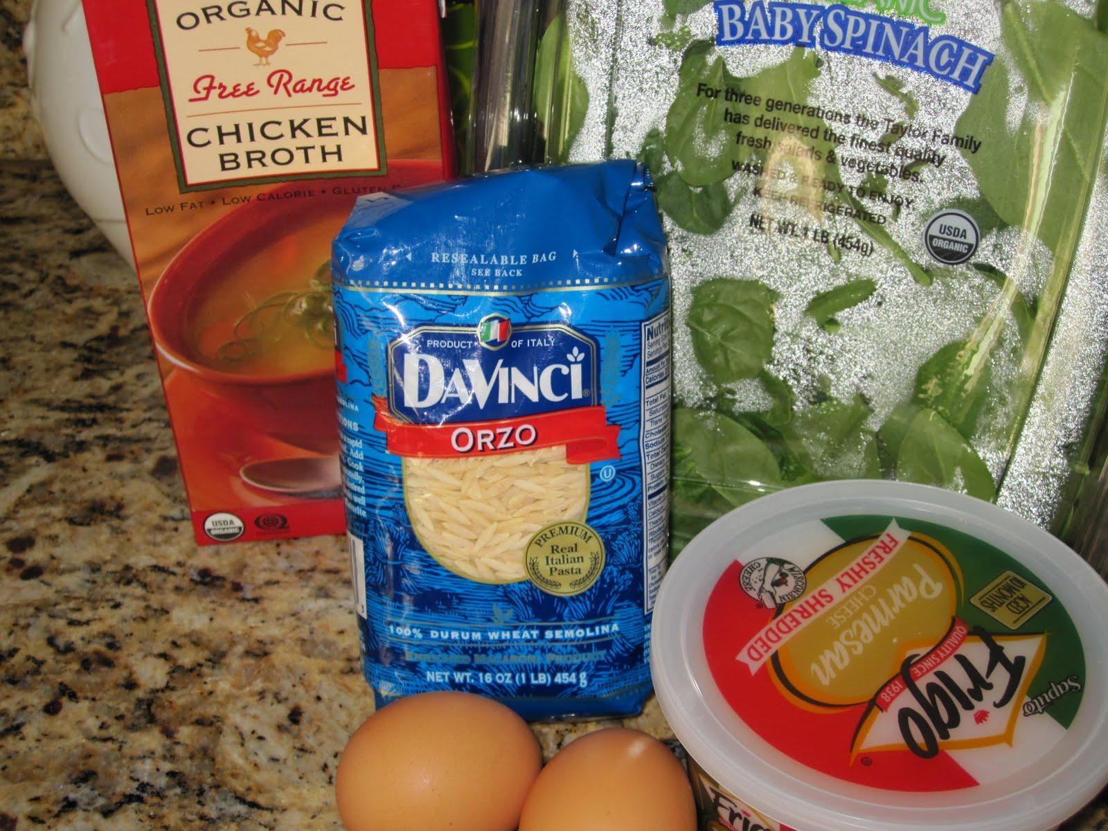 Spinach Stracciatella Soup With Orzo Recipe — Dishmaps